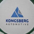 Koszulki polówki z haftem Kongsberg Automotive. Haftowane logo firmy na koszulkach firmowych. Odzież reklamowa najwyższej jakości.